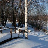 Первый выезд на дачу в деревню этой зимой. :: Пётр Сесекин