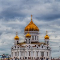 Храм Христа Спасителя. Москва. :: Viktor Nogovitsin