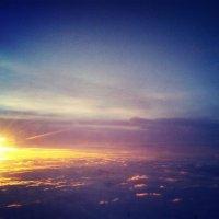 Вид сверху лучше. Пролетая над Ереваном. :: Александра Салыжина