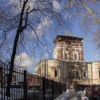 Храм Тихвинской Божьей матери (Симонов млонастырь) :: Игорь Егоров