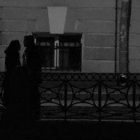 Мойка. Двое в ночи :: Юрий Бобылев