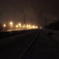 Зимою на путях :: Андрей Сорокин