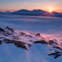 Закат над вулканами :: Денис Будьков