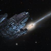 Звёздный крейсер. :: Вера Моисеева