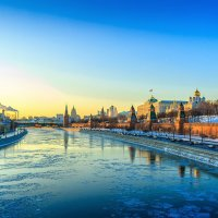 Frosty evening in Moscow :: Дмитрий Лаудин