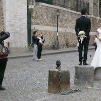 Свадебная фотосессия в Париже :: Алёна Савина