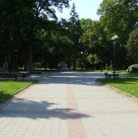 В  Мемориальном  сквере  города  Ивано - Франковска :: Андрей  Васильевич Коляскин