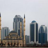 Грозный сити,мечеть. :: Олег Петрушин