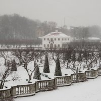 Петергоф, зима :: Андрей Илларионов
