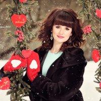 Девушка с День Святого Валентина :: Татьяна Семёнова
