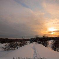 Февральские закаты 2 :: Сергей Никитин