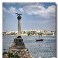 Севастополь, Памятник затопленным кораблям :: GaL-Lina .