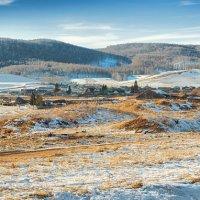 Село Большое Озеро. панорама :: Сергей Винтовкин