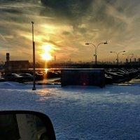 На закате... (2) :: Игорь Липинский