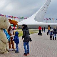 В Олимпийском парке,как в Олимпиаду. :: СветЛана D