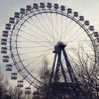 Колесо обозрения в Измайловском парке :: Елена Каталина