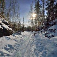 Один зимний день в Слюдоруднике. :: Сергей Адигамов