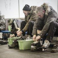 Острые коньки, крепкие шнурки. :: Александр Русинов