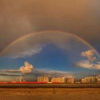 Небо над Питерскими новостройками :: Владимир Колесников