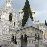 Ялта-Церковь Александра Невского :: Александр Костьянов