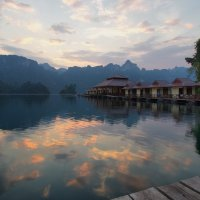 Небо в озере купается :: Юрий Кольцов