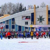 Всё готово к старту Лыжни России 2015 :: Владимир Максимов