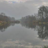 Отражение в тумане :: Валерий Лазарев