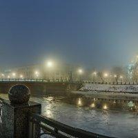 Крещенский туман :: Лидия Цапко