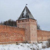 Крепостная стена в Смоленске :: Ирина С