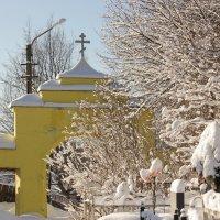 ворота на старом кладбище :: Сергей Кочнев