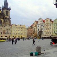 Прогулки в Праге. :: Елена