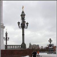 Моя Москва. Фонарики... :: Михаил Розенберг