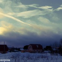 Перед снежной бурей :: Анна Никонорова