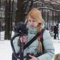 Фотографиня за работой :: marmorozov Морозова