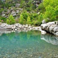 Озеро перед каньоном Гёйнюк в Турции :: Денис Кораблёв