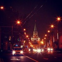 Ночные дороги Москвы :: Мария Корнилова