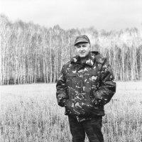 Васильич в стерне :: Евгений Золотаев