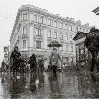 Мгновенье города под снегом :: BiLLArs |Саша Белых|