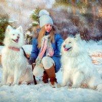 Девочка, мечтающая о собаке :: Оксана Артюхова