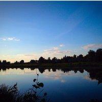 Вечер над рекой :: Мария Корнилова