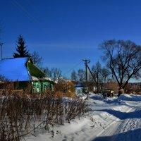 В деревне пока зима :: Юрий