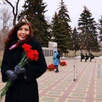 На празднике освобождения города. :: Владимир Болдырев