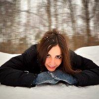 На лыжне) :: Семен Кактус