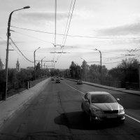 Вид из окна троллейбуса :: Николай Филоненко