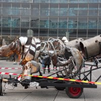 Скульптура носорога :: Natalia Harries