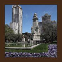 Памятник Сервантесу.Мадрид.Испания :: Черных Ксения