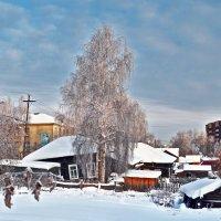 Загулявший городок :: Viktor Pjankov