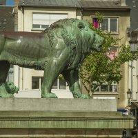 Лев на площади Гийома II (Люксембург) :: leo yagonen