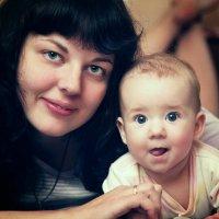 мама и дочь :: Роман Прос