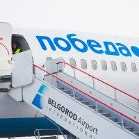 самолет авиакомпании «Победа» :: Екатерина Щёголева